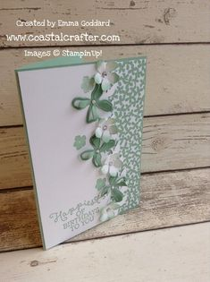 Stampin' Up! Botanical Blooms, Botanical Gardens DSP By Emma Goddard | Coastal Crafter 3rd January 2016 Spring/Summer Catalogue 2016