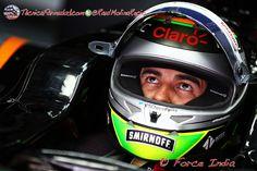 Pérez: «Yo fui el último coche en la pista en la Q2 y comprometí mi vuelta con los medios»
