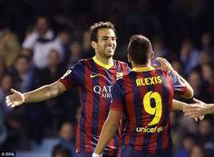 Barça wins against Celta Vigo