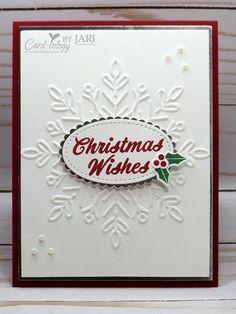 Stampin' Up! Winter Wonder & Merry Mistletoe CAS