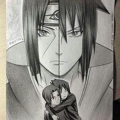 Itachi and Sasuke uchihas #sasukeuchiha #itachiuchiha #uchiha