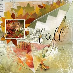 SWEET FALL: How cute is he ?!  I made this page with Artful Marks Autumn from Jen Maddocks, available at Digital Scrapbooking Studio here: https://www.digitalscrapbookingstudio.com/jen-maddocks-designs/ Also used: from Jen Maddocks at DSS: Artisan Favorite Templates 9 (part of Bricolage 103 bundle)