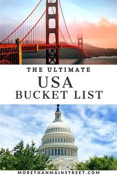 Looking for your next adventure? Get inspired with our Ultimate USA Bucket List: 25 Epic Adventures to Experience in the USA! Fun road trips, exciting things to do, and amazing places to visit throughout the United States. Which travel destination will you choose to check off your US bucket list first? #US #USA #travel #traveldestinations #bucketlist