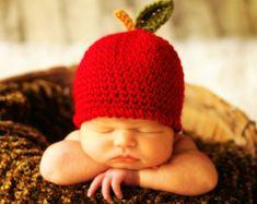 Baby Hat CROCHET PATTERN in 5 sizes 0-10 years by TooCuteCrochet