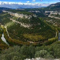 Fotografía desde el mirador del cañón del Ebro en el Parque Natural de Hocces de Alto Ebro y Rudrón. Ebro, Spain Travel, City Photo, Outdoor, Destinations, Tourism, Naturaleza, Viajes, Outdoors