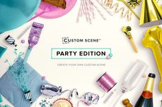 Party Edition - Custom Scene - Product Mockups