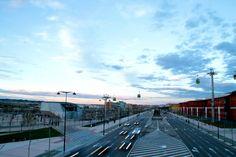 Over the road. #Zaragoza #Expo2008 #ExpoZaragoza2008