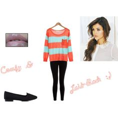 Cute Outfit for School- not really fond of the jumper's colour though
