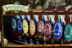 """SweetWater the No. 20 craft brewer in United States"" via Atlanta Business Chronicle."