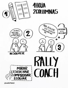 Aprendizaje cooperativo: Rally Coach
