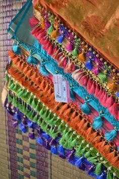 Resham and Beads latkan