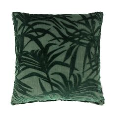Zuiver Miami Kussen Viscose 45 x 45 cm - Palmtree Green Miami Houses, Hotel Lounge, Green Cushions, Ocean Photography, Photography Tips, Wedding Photography, Exotic Places, My New Room, Midnight Blue
