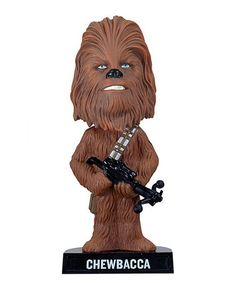 Take a look at this Chewbacca Wacky Wobbler Bobblehead on zulily today!