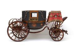 Magnificent coach of the French Marshal Berthier c.1791