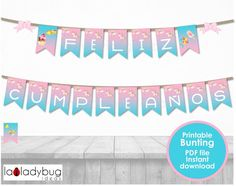 Birthday Wishes For Kids, Happy 7th Birthday, 18th Birthday Cards, Unicorn Birthday Parties, Happy Birthday Banners, Girl Birthday, Photo Frame Prop, Photo Prop, 60th Birthday Party Decorations