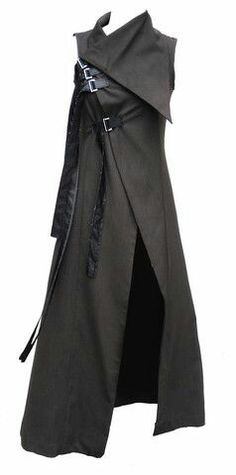 Cat's riding cloak, with several additional pockets and slots inside.