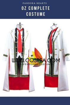 Pandora Hearts Oz Complete Cosplay Costume