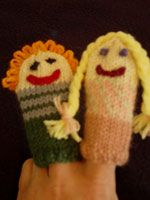 Kidsknits Free Knitting Patterns FInger Puppets