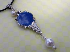 Hand Crafted Silver Plate Spoon Pendant #
