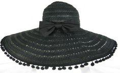Ribbon Pom Pom Hat