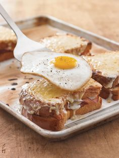 Ham and Gruyere Croque Madame | Williams-Sonoma Taste