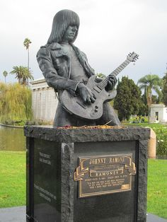 Johnny Ramone. Hollywood Forever Cemetary, Los Angeles