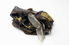 A very sad reminder. Found in the Towers Wreckage a helmet from Squad 252