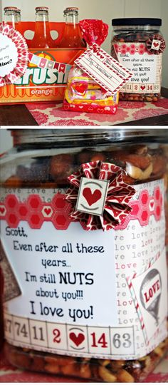 Still Nuts 4 U   Click Pic for 38 DIY Valentine Gifts for Him   DIY Valentine Gifts for Boyfriend