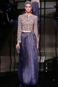 Giorgio Armani Privé: Haute Couture Paris, Frühjahr/Sommermode 2014