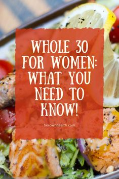 for women is designed to completely change the way you feel & eat in 30 days. If you are up for a challenge, you will love this program. Diet And Nutrition, Healthy Diet Tips, Healthy Crockpot Recipes, Healthy Eating Recipes, Low Carb Recipes, Real Food Recipes, Diet Recipes, Paleo Diet, Healthy Food
