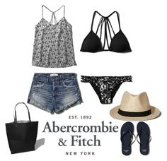 """""""The A&F Summer Getaway Giveaway: Contest Entry"""" by zoe-keredy ❤ liked on Polyvore featuring Abercrombie & Fitch, women's clothing, women, female, woman, misses, juniors and abercrombieandfitch"""