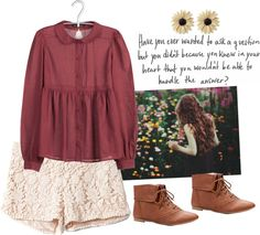"""The birds be a chirpin'."" by daisyforkailey ❤ liked on Polyvore"