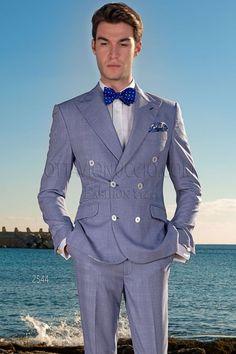 98a7337e6d017 #princedegalles #costumecroisé #modehomme Costume Homme Italien, Costume  Croisé Homme, Hommes Mariage