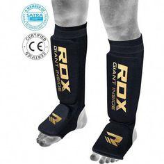 8738a94913 RDX Shin Instep MMA Knee Pads Protector Guard Support Elasticated Jiu Jitsu  Training, Black