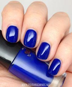 Lancome Nuit d'Azu nail polish