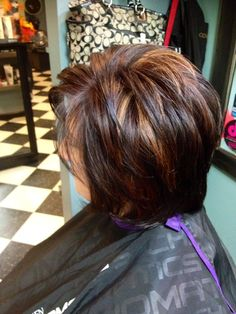 Fall Red Hair, Red Brown Hair Color, Short Brown Hair, Fall Hair Colors, Brown Hair With Highlights, Short Hair With Layers, Hair Color Highlights, Ombre Hair Color, Hair Colours