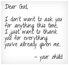 Our Father   Thank you.   Our Father . . .