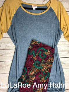 This outfit. I'm so in love with this pairing. XL Julia and TC leggings. Beautiful classy colors. $70 plus tax and free shipping! Shop my VIP Group for all your Comfy and Cozy LulaRoe Outfits! >>>> https://www.facebook.com/groups/lularoeamyhahn/ #lularoe #leggings #outfit #comfort #style
