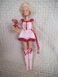 tuto gratuit barbie :robe, cuissardes,panier