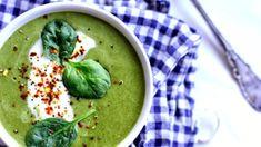 Brokolicovo-špenátová krémová polévka  Foto: