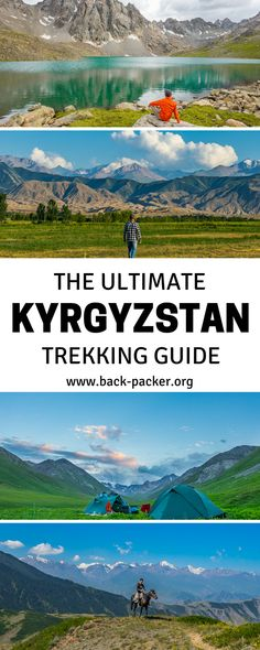The ultimate guide to trekking through Kyrgyzstan, a Central Asian country situated along the Silk Route and known for its beautiful mountains and lakes and friendly people. Hike along hidden paths and discovery a country just waiting to be explored... Kyrgyzstan is truly the trip of a lifetime. | Back-packer.org#Kyrgyzstan