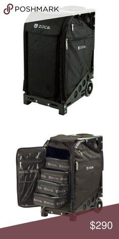 Zuca Artist Suitcase Like new Makeup Artist Zuca Bag zuca Bags Cosmetic Bags & Cases
