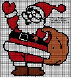 Новогодние рисунки для вышивания крестиком