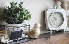 DIY Floating Shelves and Bathroom Update Decorating Your Home, Diy Home Decor, Interior Decorating, Diy Regal, Farmhouse Kitchen Decor, Farmhouse Style, Rack Design, Floating Shelves Diy, Rustic Bathrooms