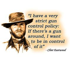Anti Obama Gun Control Clint Eastwood Quote Conservative Political T Shirt   eBay