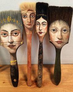 "colin-vian: "" Painted Brushes - Alexandra Dillon """