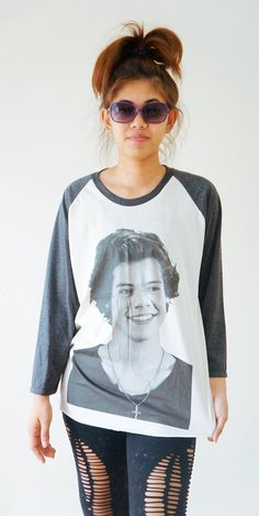 SML  HARRY STYLE Shirts 1D Shirts One Direction by cottonclick, $18.00