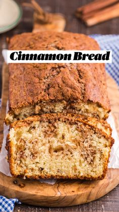 Baking Recipes, Cookie Recipes, Healthy Bread Recipes, Dessert Recipes, Yummy Treats, Delicious Desserts, Yummy Food, Cinnamon Bread, Cinnamon Desserts