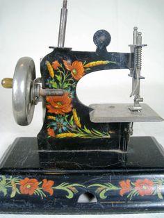 Antique Casige German Child's Doll Sewing Machine~~