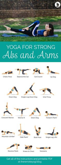Yoga for Strong Abs & Arms - Free Printable PDF Check more at yoga. Informations About Yoga for Strong Abs & Arms - Free Printable PDF Yoga Fitness, Shape Fitness, Health Fitness, Fitness Style, Yoga Beginners, Beginner Yoga, Yoga For Beginners Flexibility, Advanced Yoga, Improve Flexibility